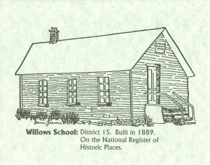Willows School, Custer County, Colorado
